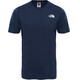 The North Face M's Red Box S/S Tee Urban Navy/TNF White